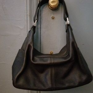 Authentic Tod's brown leather handbag